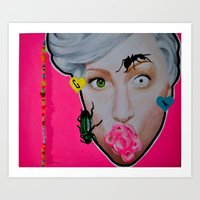 artrave Art Prints featuring artRAVE by Sabino Martinez