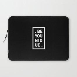 YOU AND YOURSELF (BLK) Laptop Sleeve