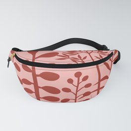 Ibiza flowers 380pink Fanny Pack