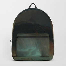 Frederic Edwin Church - Aurora Borealis Backpack