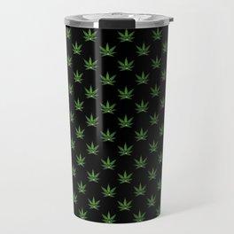 All over print for cannabiznoids leggings Travel Mug