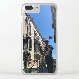 Gondolier Clear iPhone Case