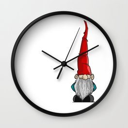 Gnome Wall Clock