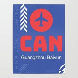 CAN Guangzhou Baiyun International Airport Poster