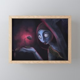 Sally Framed Mini Art Print