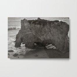 El Matador Beach Metal Print