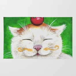 Shironeko - Cats with Moustaches Rug