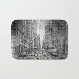 Graphic Art NEW YORK CITY 5th Avenue Traffic Bath Mat