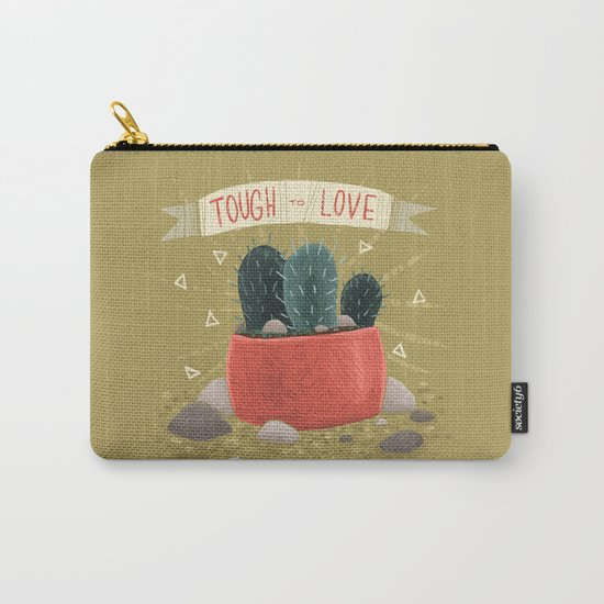 Cactus - TOUGH TO LOVE Carry-All Pouch
