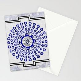 108 Evil Eye Sri Yantra Stationery Cards