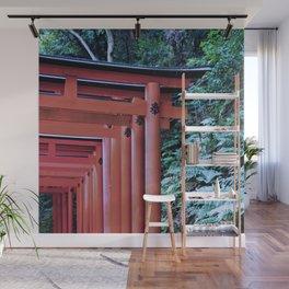 Inari Gates Galore Wall Mural