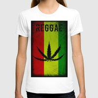 reggae T-shirts featuring REGGAE by shannon's art space