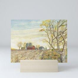 After the Harvest Mini Art Print