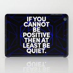 Joel Osteen Quote iPad Case