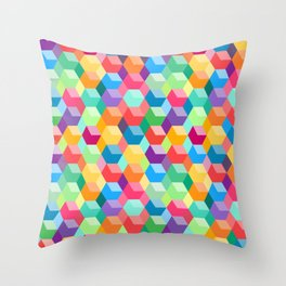 Blocky Throw Pillow
