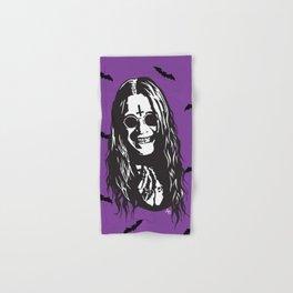 OZZY: Purple Sabbath Hand & Bath Towel