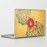 spider Laptop & iPad Skins featuring SPIDER by Armin Barducci