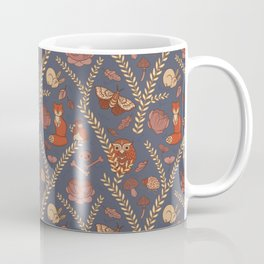 Winter Forest Pattern Coffee Mug