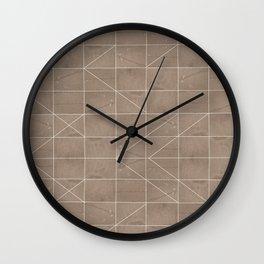 Sand Box Wall Clock