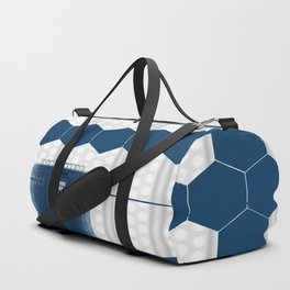Tardis Shadow Blue Box Duffle Bag