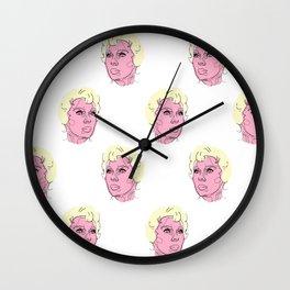 Psycho Pattern / Wall Clock