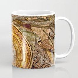 Bracket Fungi on the forest floor Coffee Mug