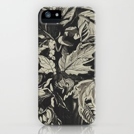 Fall Time Bouquet iPhone Case
