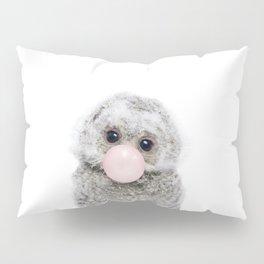 Bubble Gum Baby Owl Pillow Sham