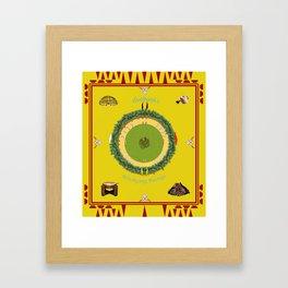 Our practice Framed Art Print