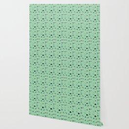 Happy Mountains Pattern Wallpaper
