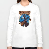 cookies Long Sleeve T-shirts featuring Cookies! by WinterArtwork