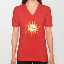 Happy Sun Unisex V-Neck