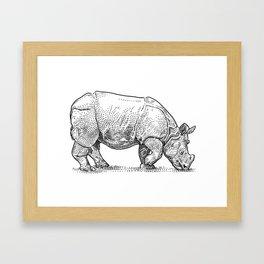 Badak Jawa Framed Art Print