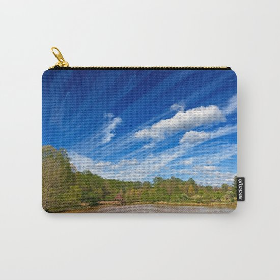 Meadowlark Cloud Gardens Carry-All Pouch