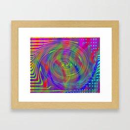 Colour bytes Framed Art Print