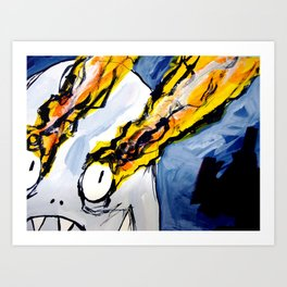 eyebeam guy Art Print