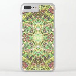 Faerie Fire Tracers Clear iPhone Case