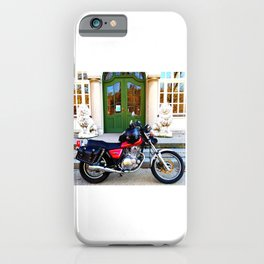 Motorbiketrip to the museum of the Bavarian Kings iPhone Case