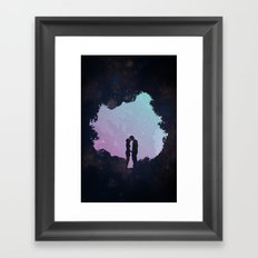 Edge of the Moonlight Framed Art Print
