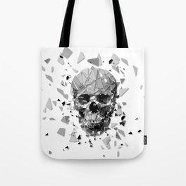 Exploded skull Tote Bag