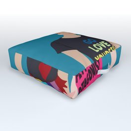 internatinal women's day Outdoor Floor Cushion