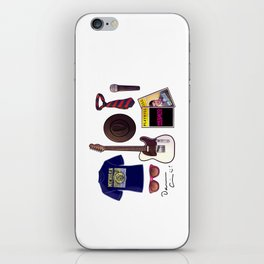 Darren's things iPhone Skin