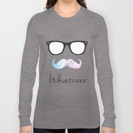Stache (Gradient) Long Sleeve T-shirt