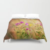 wonder Duvet Covers featuring Wonder by Erin McClain Studio