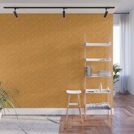 SWIRL / mango juice Wall Mural