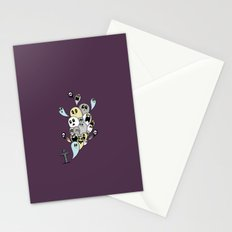 Spooky Ghosts Stationery Cards