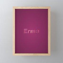 Erma Framed Mini Art Print