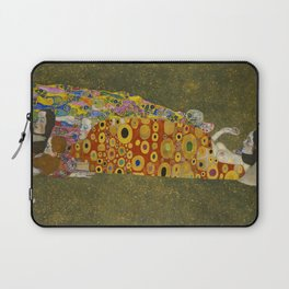 Gustav Klimt - Hope II Laptop Sleeve