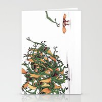 gizmo Stationery Cards featuring GIZMO CACA by olivier silven