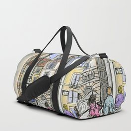 City Landscapes - Piazza della Rotonda - Pantheon - Rome - Italy Duffle Bag